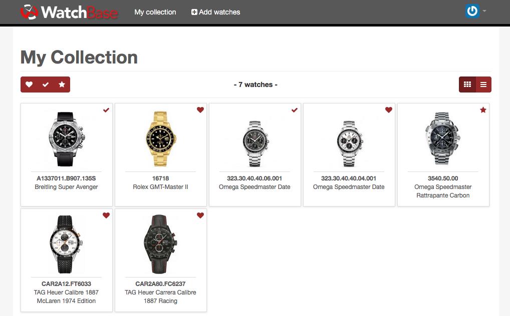 Screenshot collection